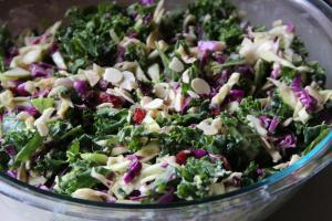 Crunchy Kale Salad | Beyond Rice and Tofu